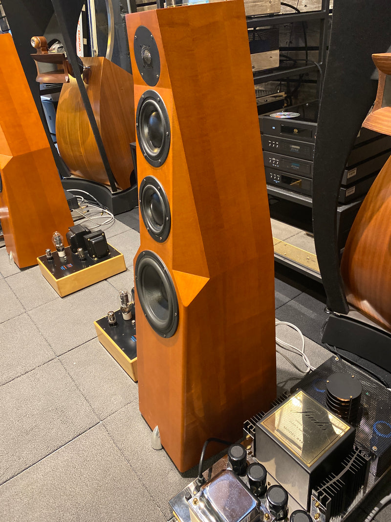 Totem Wind Floorstanding Speakers - Gorgeous and Capable