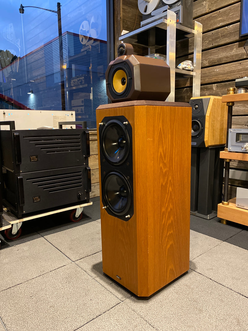 B&W (Bowers & Wilkins) 802 Series 80 Vintage Speakers - Working Perfectly