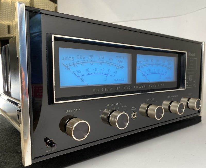 McIntosh MC2255 Amplifier in Gorgeous Condition - 250W x 2