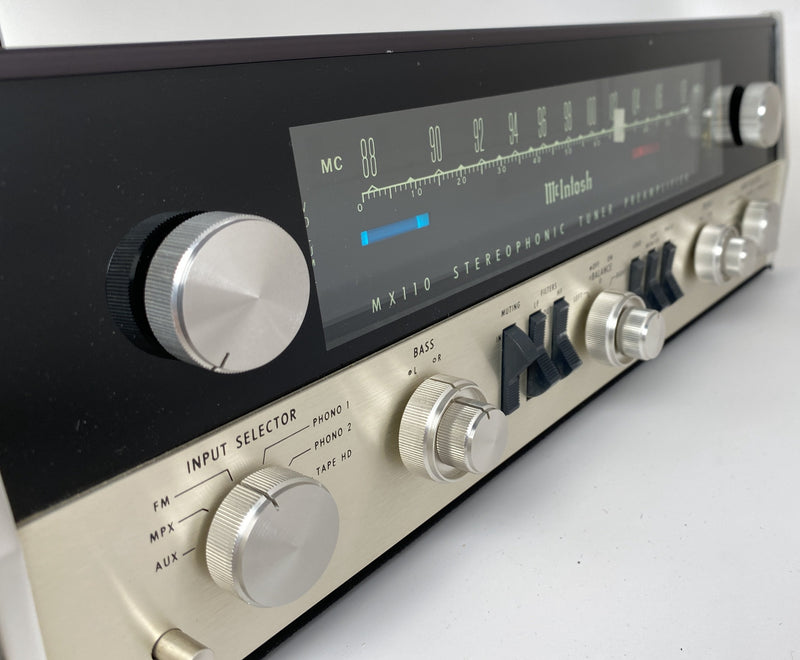 McIntosh MX110 Tube Tuner Preamp - Restored to Perfection