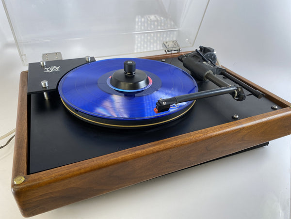 VPI HW-19 Turntable with Tangential Tonearm and Pump - In Dark Mahogany With New Sumiko Cartridge