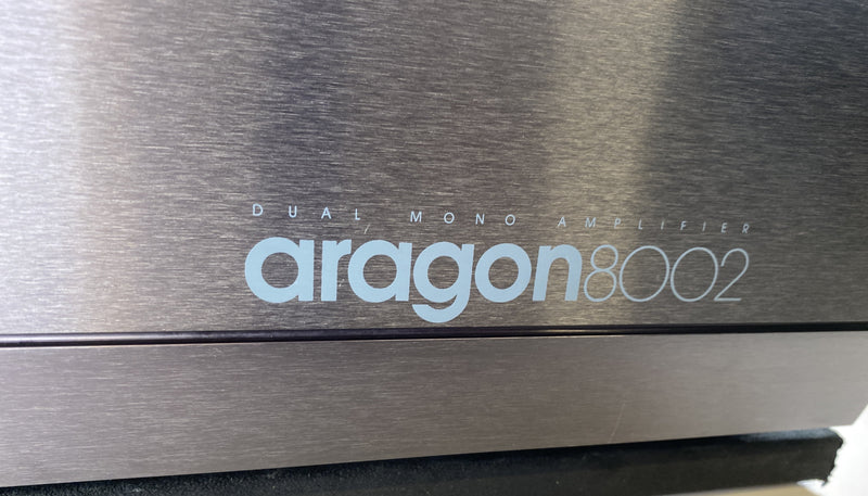 Aragon 8002 Vintage Dual Mono Solid State Amplifier
