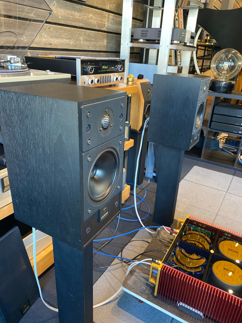 Celestion SL6si Vintage Bookshelf Speakers With Matching Stands
