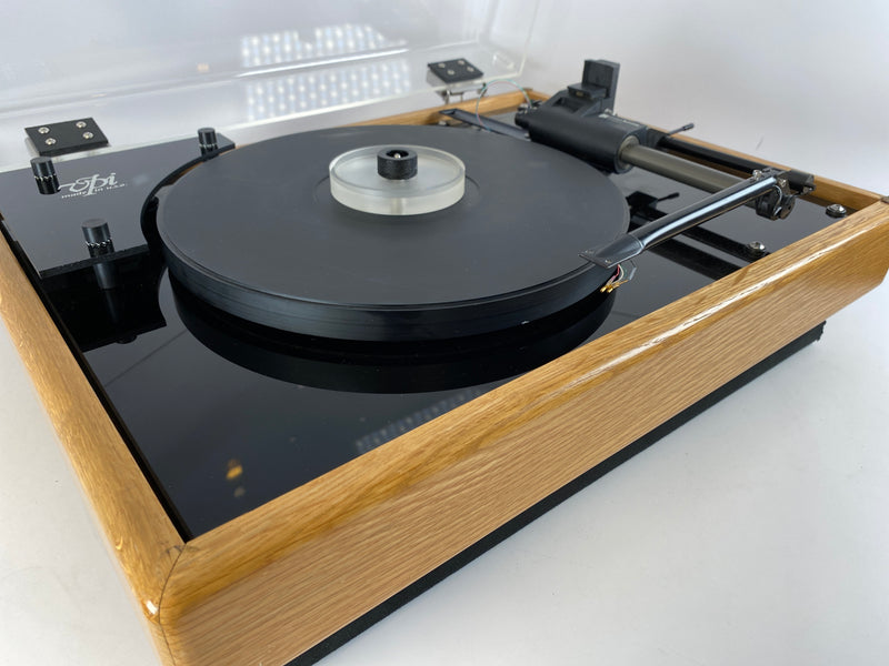 VPI HW-19 Turntable with Tangential Tonearm and Pump - In Light Oak With New Sumiko Cartridge