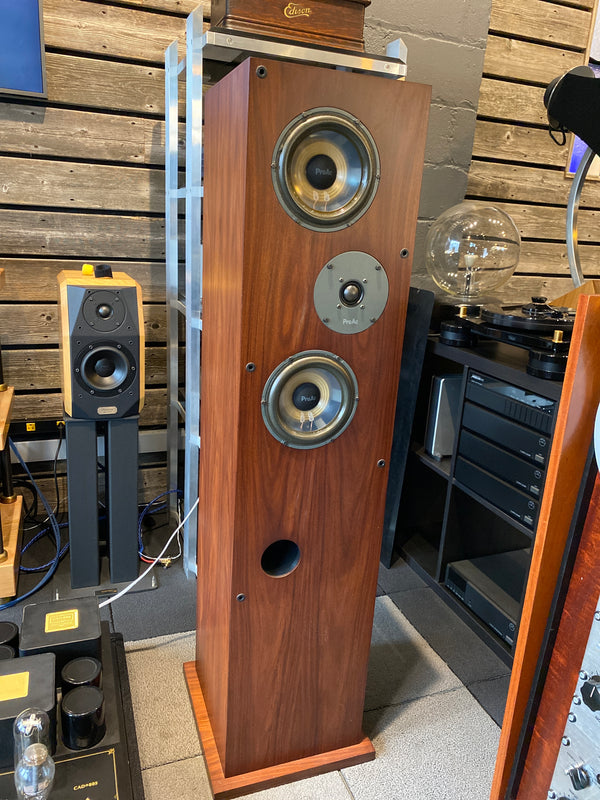 ProAc Response 3.5 British Speakers in Gorgeous Mahogany Finish with Original Boxes