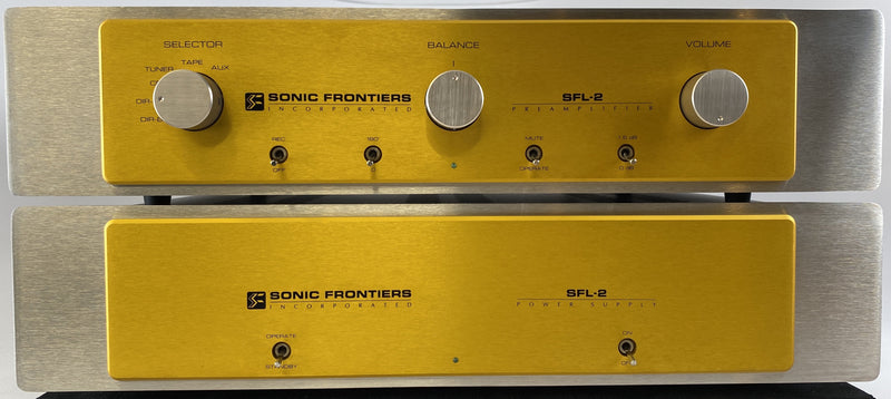 Sonic Frontiers SFL-2 - All TUBE Dual-Chassis Preamp