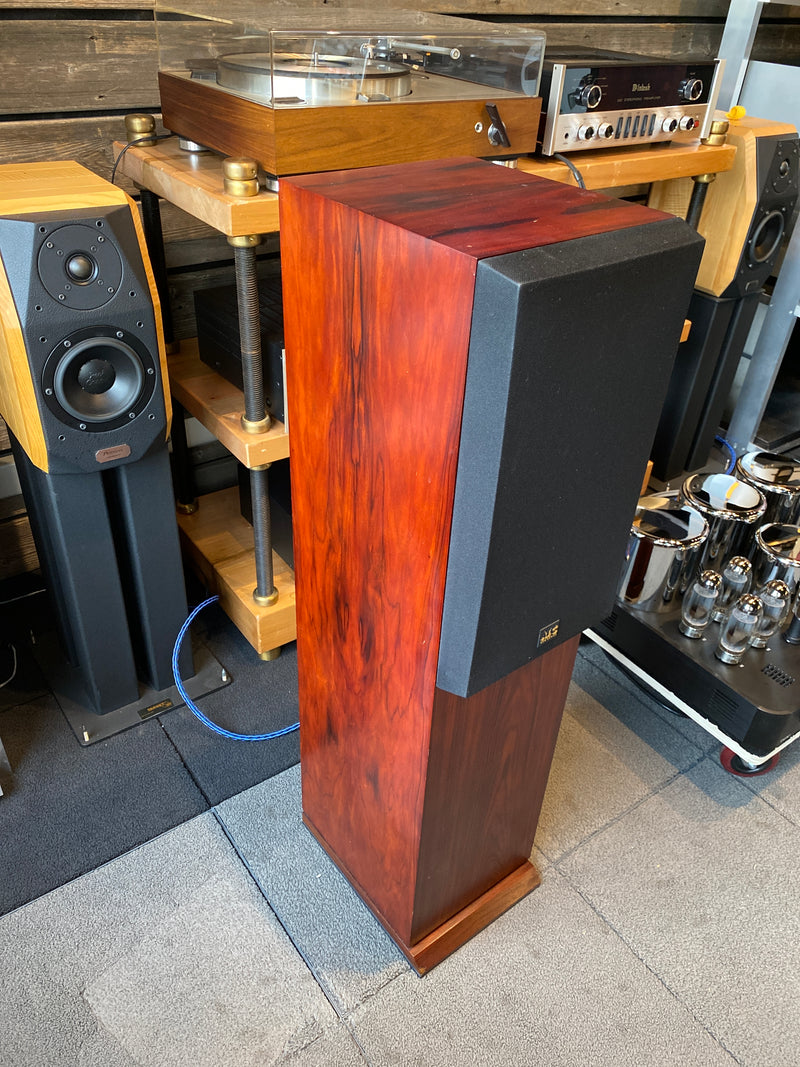 ATC SCM 20T Speakers in Red Mahogany
