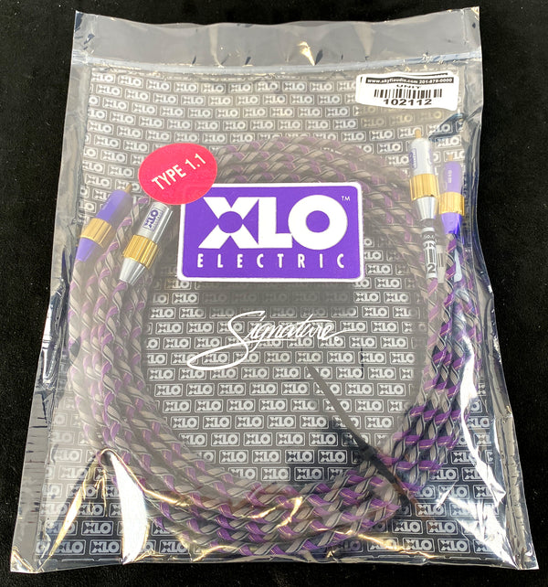 XLO Signature Series Type 1.1 RCA Audio Cable - As New - 3M