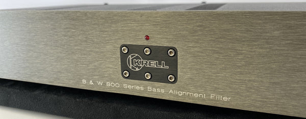 Krell Bass Alignment Filter for B&W 800 Series Speakers - SUPER RARE!