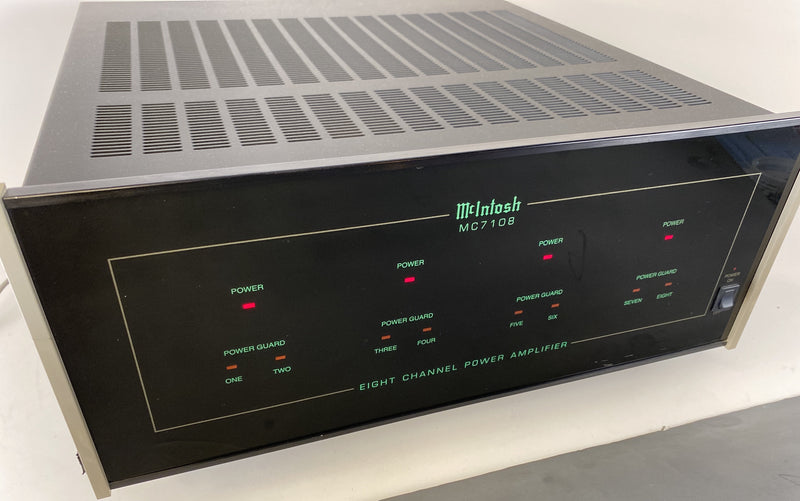 McIntosh MC7108 Eight Channel Amplifier - Configurable and Near Mint