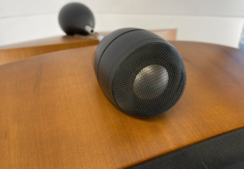 B&W (Bowers & Wilkins) Nautilus SCM1 Home Theater Speakers in Cherry