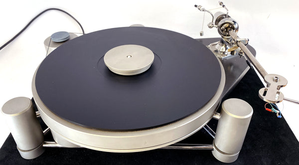 Simon Yorke Zarathustra S4 Turntable With Pluto 5A Arm and Sumiko Blackbird