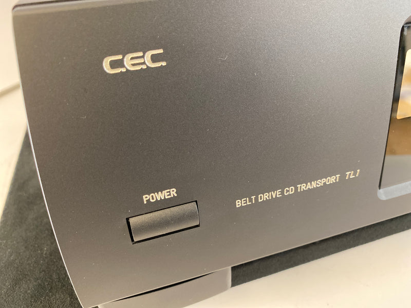 CEC TL1 Belt Drive CD Transport! Top Loading and Serviced