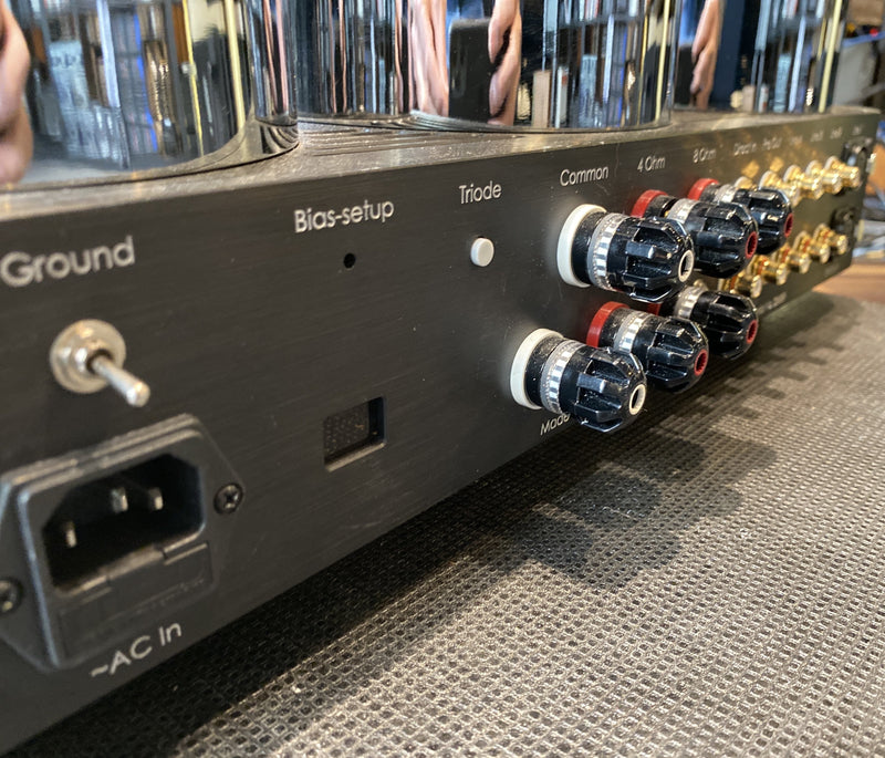 Ayon Triton III Integrated Tube Amplifier with KT150 Tubes - Pentode and Triode Switchable