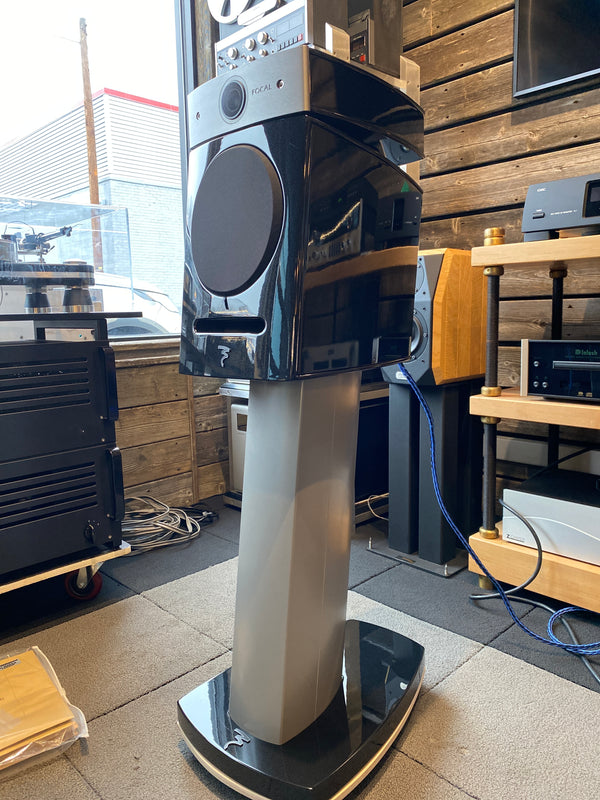 Focal Diablo Utopia III Speakers - As NEW and Complete with Stands