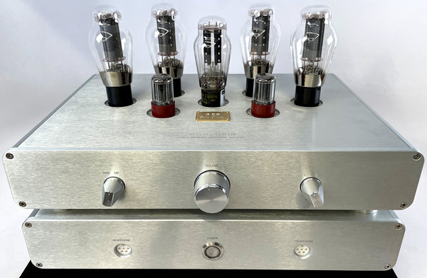 Woo Audio 3ES ELITE Headphone Amplifier w/Massive Upgrades AND STAX SR-009 Headphones