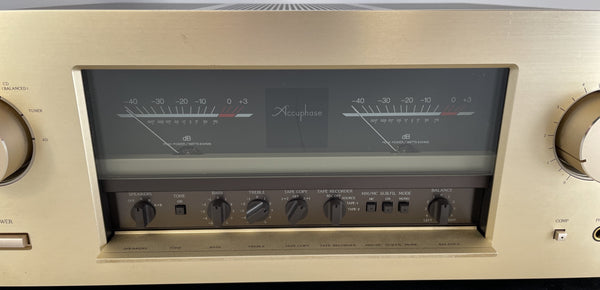 Accuphase E-406 Integrated Amplifier w/Phono and Balanced Connections