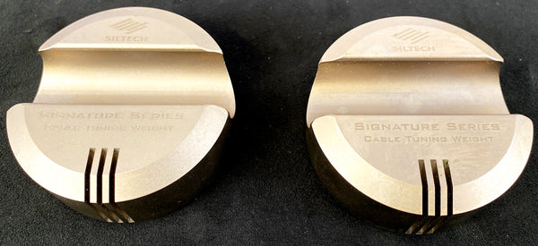 Siltech Signature Series Cable Tuning Weights Set - SUPER Rare