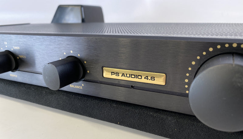 PS Audio 4.6 Vintage Analog Preamp With Separate Power Supply and Phono