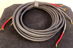 Signal Cable Speaker Cable With Banana and Spade Terminations - 9'