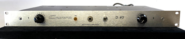 Crown D-40 Vintage Dual Channel Studio Amplifier
