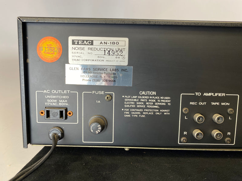 TEAC AN-180 Dolby Noise Reduction Unit - Tested and Working