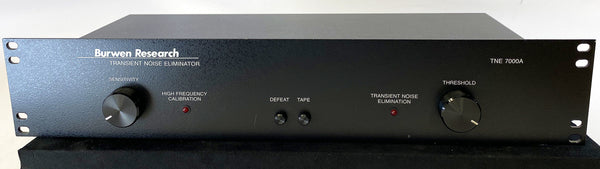 Burwen Research TNE 7000A Transient Noise Eliminator (Click and Pop Reducer)