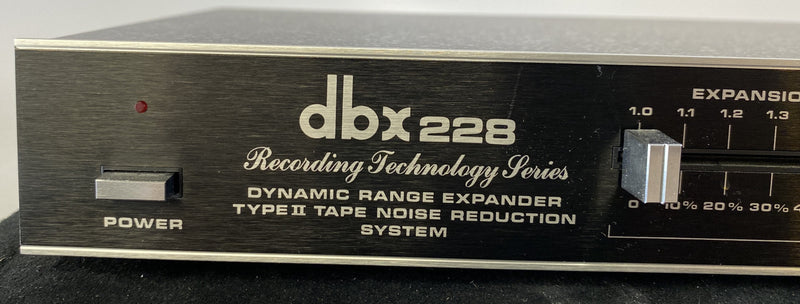 dbx 228 Dynamic Range Expander/Tape Noise Reduction System