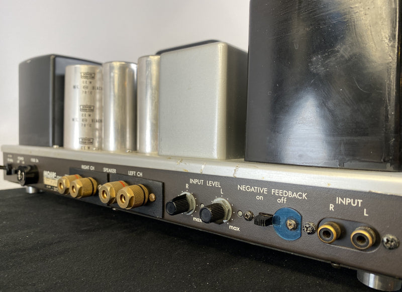 Luxman MQ68c - Custom 68 Tube Amplifier with Official Luxman/NEC Tubes