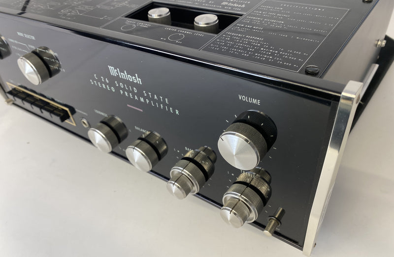 McIntosh C26 Preamp - All Analog with Phono - Super Clean!