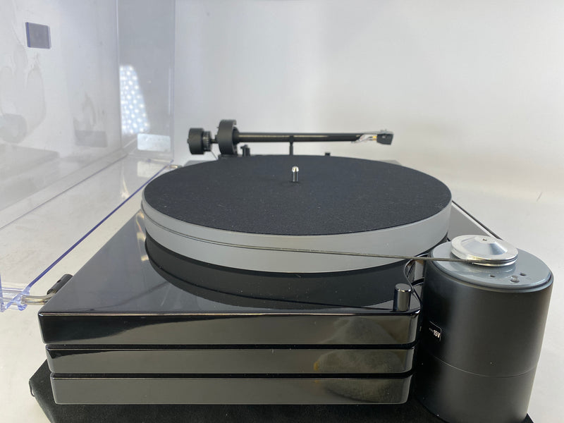 Music Hall mmf-9.3 Triple Plinth Belt Drive Turntable - with Goldring Eroica LX Low-Output MC Cart
