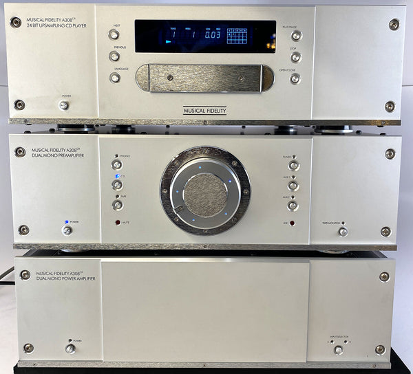 Musical Fidelity A308CR - Complete Audio System