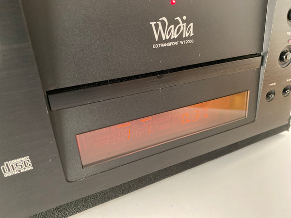 Wadia WT-2000 CD Transport With Remote
