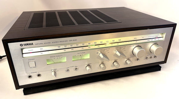 "Yamaha CR-640 Vintage ""Natural Sound"" Stereo Receiver"