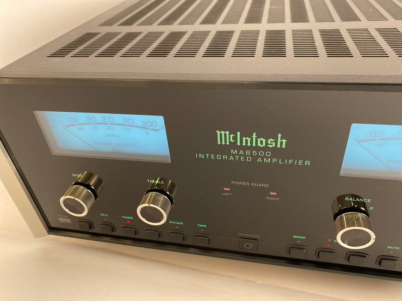 McIntosh MA6500 Integrated Amplifier - Excellent Condition and Refreshed