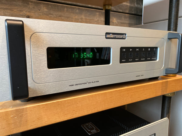Audio Research CD3 MKII CD Player - With Remote, Manual, and Box