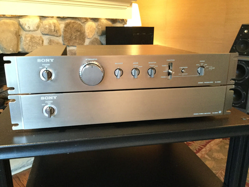 Sony TA-E86B and TA-N86B Preamp/Amplifier Combo, Super Rare and Collectable