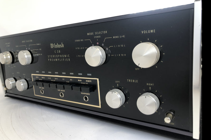 McIntosh C28 Preamp - Fully Restored and Near Mint