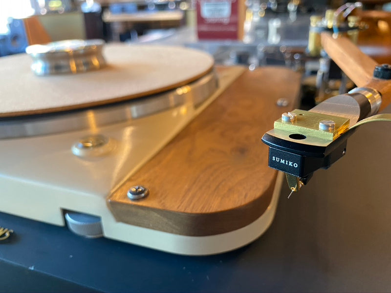 Slate Thorens TD-124 Ultimate Build with New Sumiko Cartridge and Power Supply