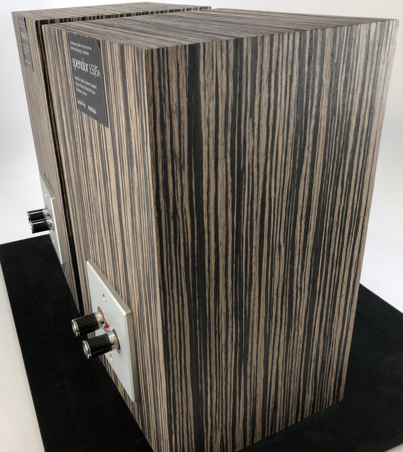 Spendor LS3/5A Studio Monitor Loudspeaker - in Custom Ebony Cabinets
