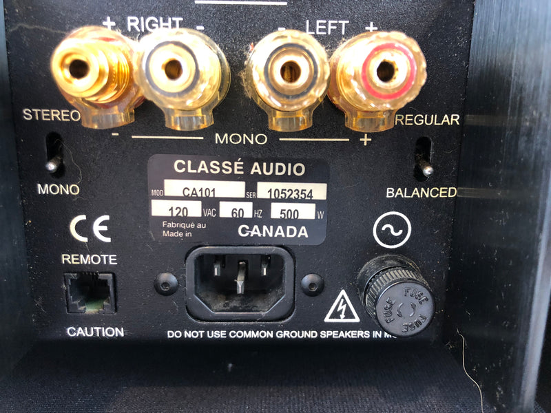 Classe Audio CA-101 Solid State Amplifier in Two Tone Finish, Fully Tested (C)