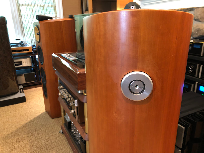 B&W (Bowers and Wilkins) Nautilus 803 Speakers in Cherry