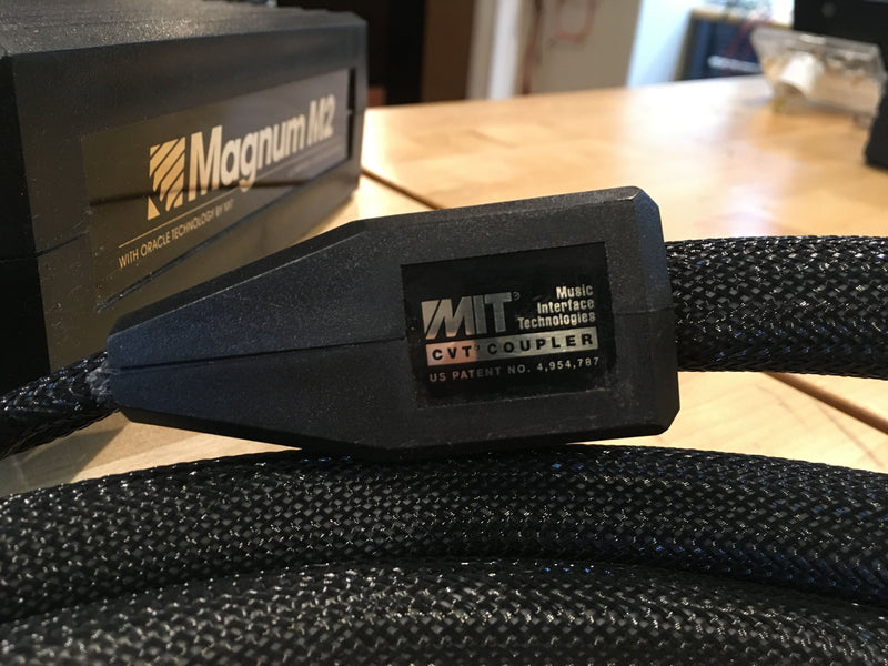 MIT Cables - Magnum M2 Bi-Wire Speaker Cable Set with New Connectors - 12'