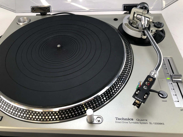 "KAB Electro Acoustics / Technics SL-1200MK5 ""Audiophile Standard Turntable"" - Direct Drive and Highly Modified"
