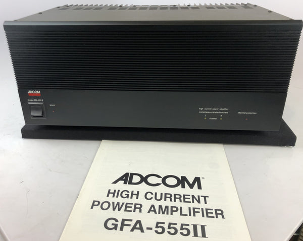 Adcom GFA-555 MKII Stereo Amplifier in Box