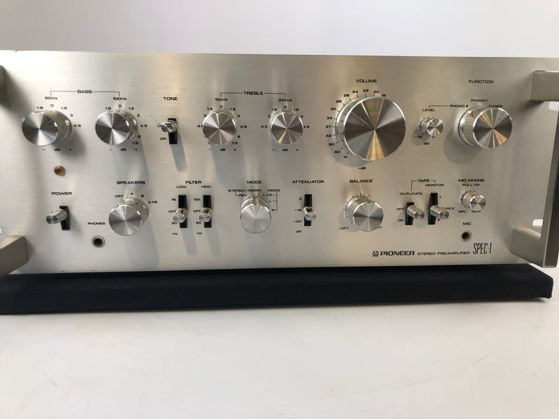 Pioneer SPEC-1 Vintage Solid State Stereo Preamp with Phono - 110V/220V Version (A)