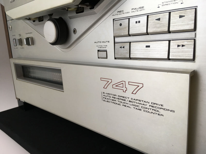 Akai GX-747 Professional Stereo Reel to Reel Tape Recorder