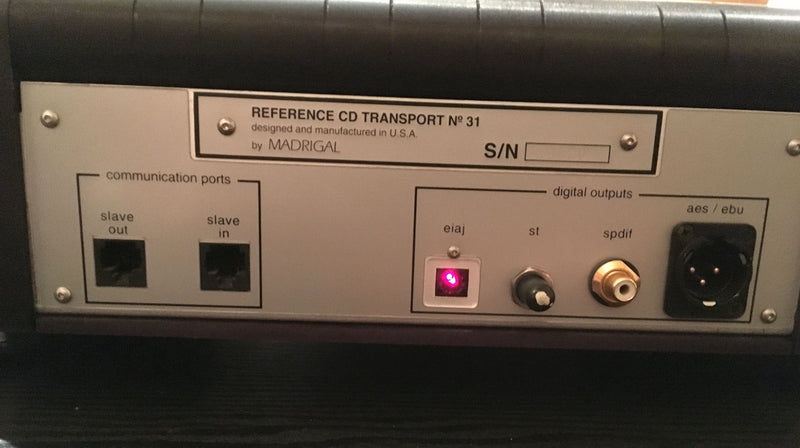 Mark Levinson No.31 Reference CD Transport - Rare - Top Loading and Motorized
