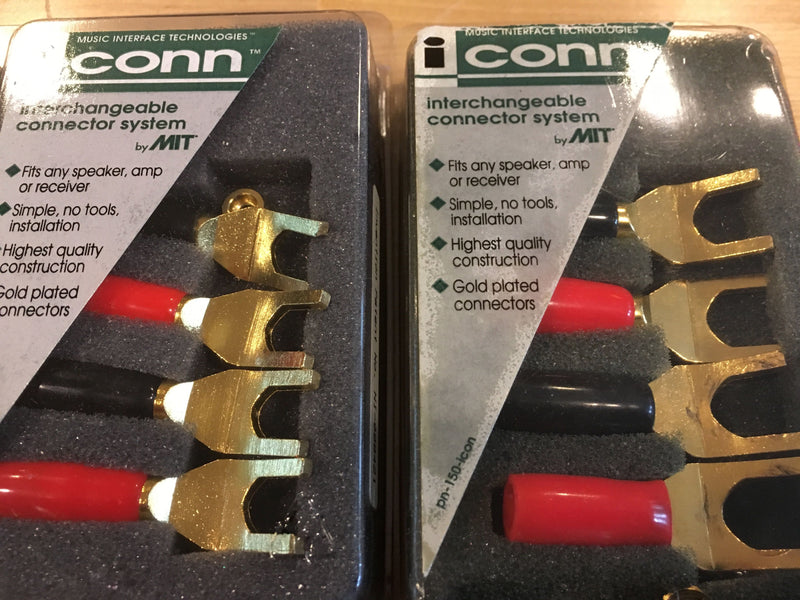 MIT Cables Magnum M2 Bi-Wire Speaker Cable Set with New Connectors, 12'