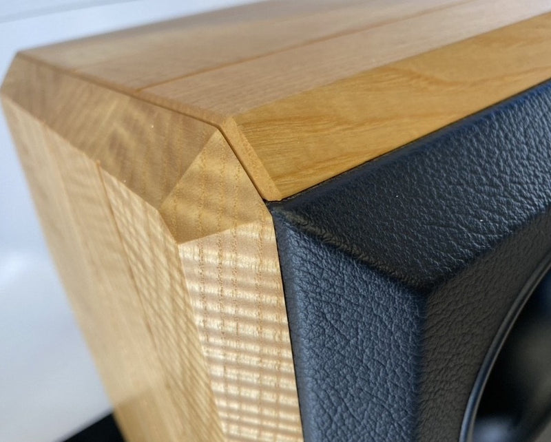 Peak Consult Princess Signature Speakers - In Solid Wood and Leather